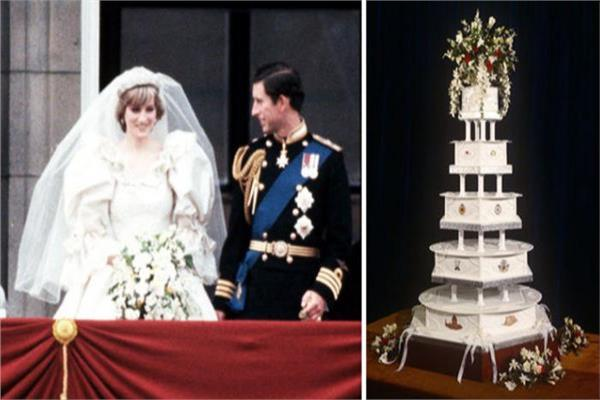 Princess Diana's wedding cake sells for $ 3,000 at auction