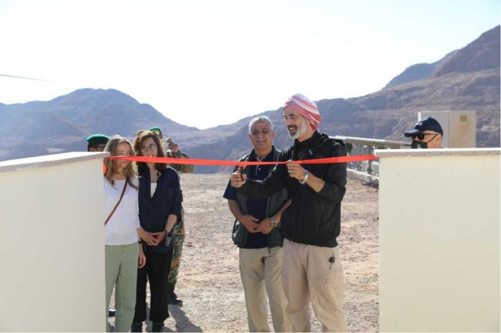 Representing the King, Prince Ghazi Wadi Rum opened the Astronomical Laboratory |  East and West