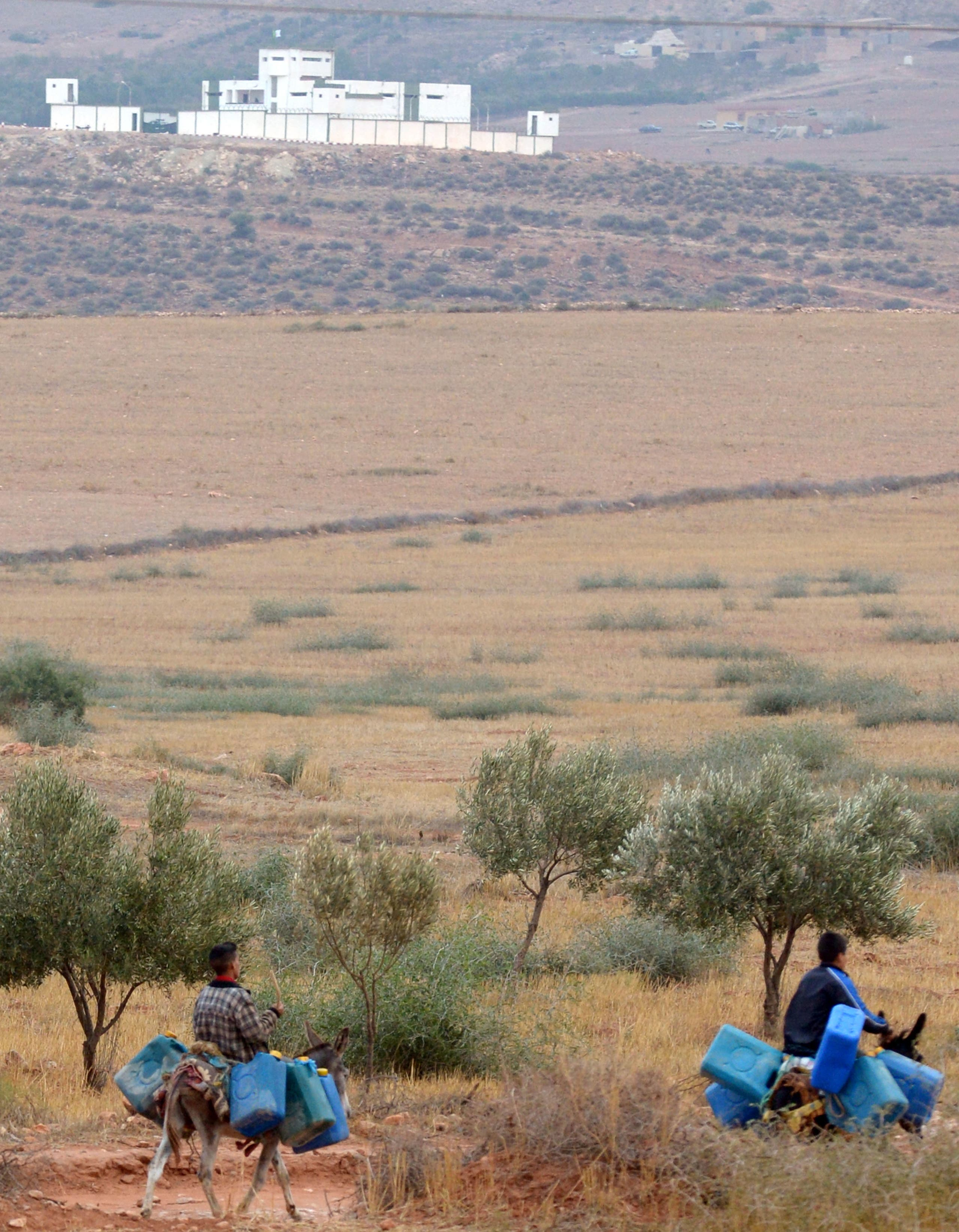 From the Moroccan-Algerian border (AFP archive)