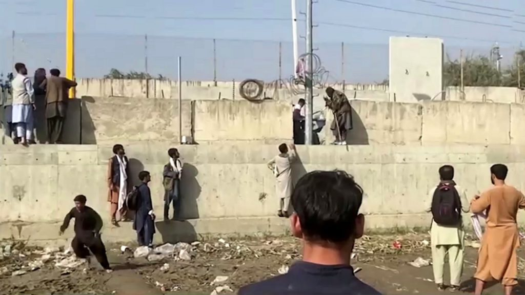 Afghan civilians killed in clashes around Kabul airport