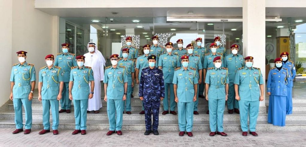 Al Shamsi greets the 5 and 4 star centers