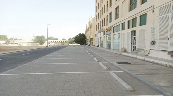 Completion of road works to improve traffic in Mohammed bin Saeed city