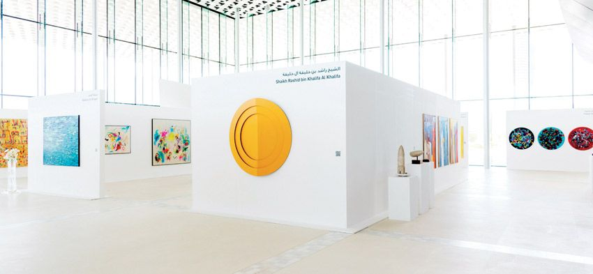 Gulf News |  More than 3,000 people have visited the Bahrain Fine Art Exhibition since its inception