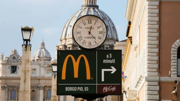 McDonald faces unbelievable charges in Italy
