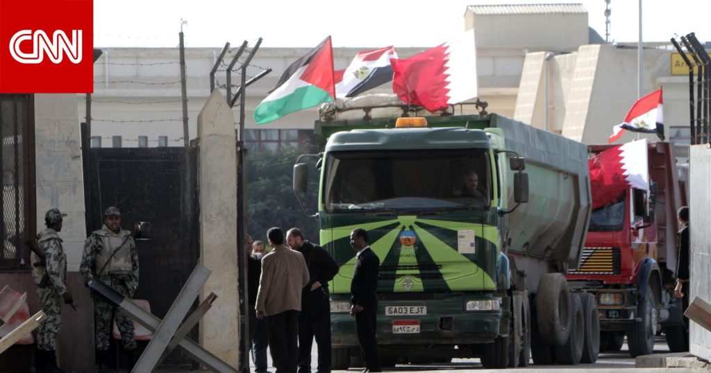 New financial agreement worth millions of dollars for Gaza, in coordination with Qatar Finance and the United Nations