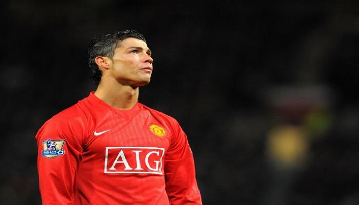 كريستيانو رونالدو بقميص مانشستر يونايتد