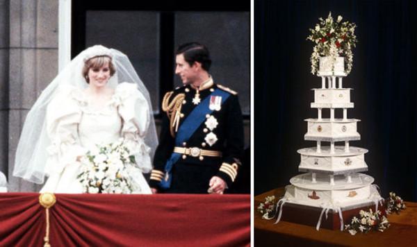 شاهد: بيع قطعة من كعكة زفاف الأميرة ديانا بهذا السعر الخيالي