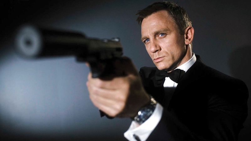 September 28 .. The first scene of the new James Bond movie