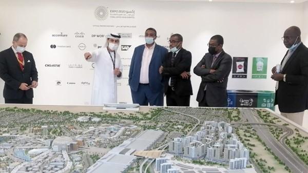 Sudanese delegation visits Expo 2020 Dubai site