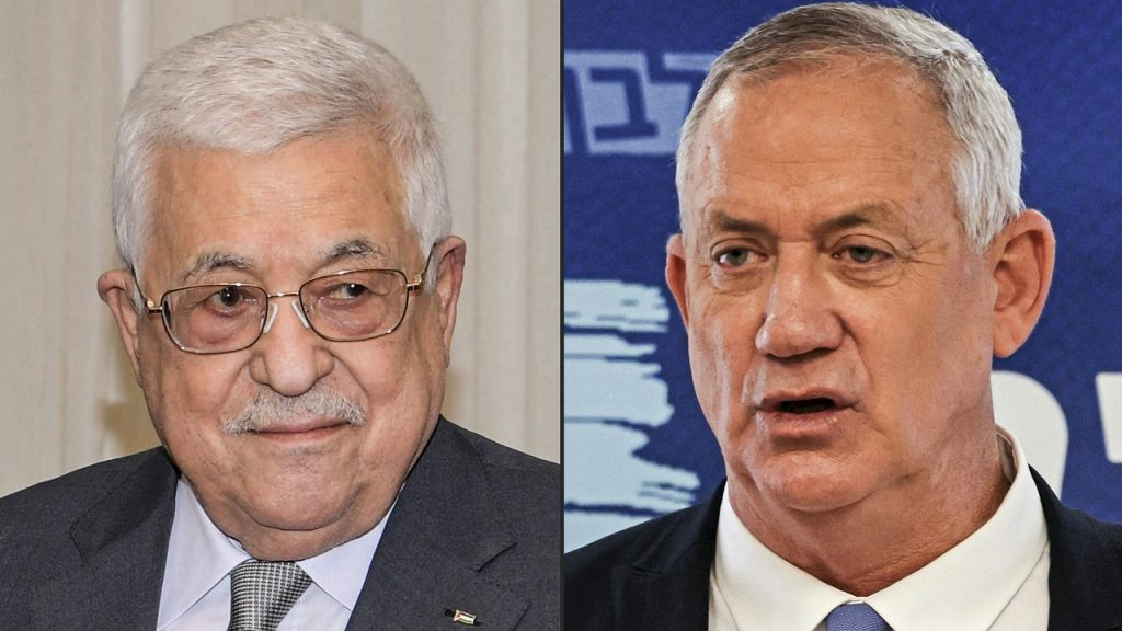 Talks between the Palestinian President and the Israeli Defense Minister