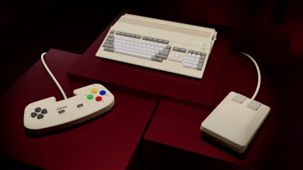 The Amiga 500 will return as a smaller platform for $ 139 next year