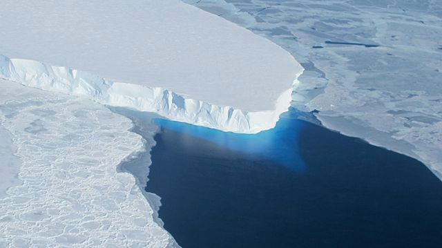 The Earth's crust beneath western Antarctica is thin and its glaciers are in danger of collapsing.  Germany