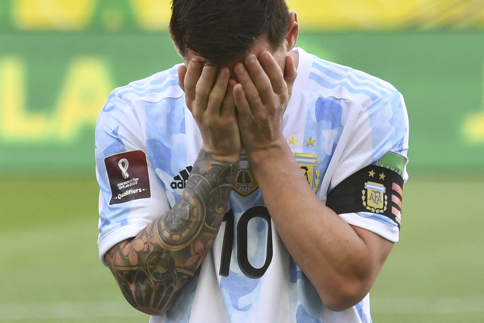 Argentina national team decides to return home after suspending its tournament in Brazil (photo)