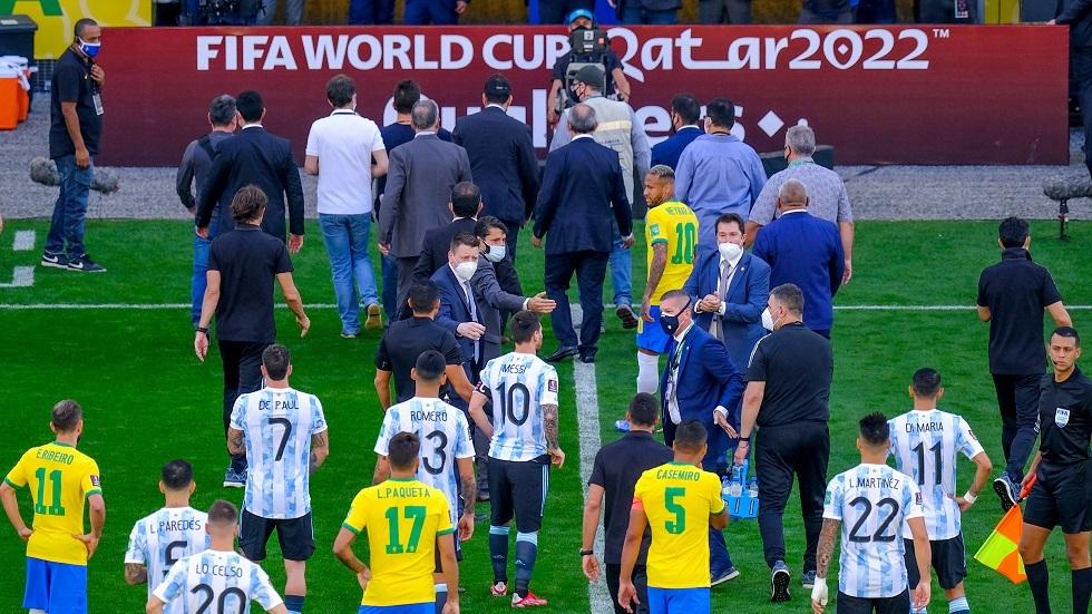 CBF: We have notified Argentina
