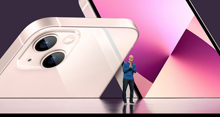 Apple CEO Tim Cook unveiled the updated versions of the new iPhone 13 and iPad on September 14, 2021 at Apple Park in Cupertino, California.