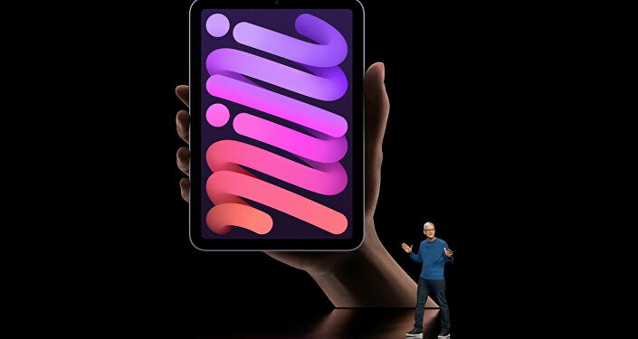 Apple CEO Tim Cook unveiled the updated version of the iPod on September 14, 2021, at the Apple Park in Cupertino, California.