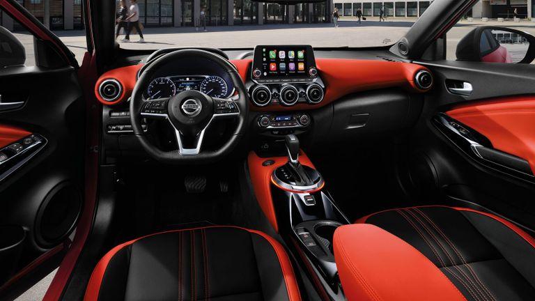 Nissan Juke 2022 from the inside