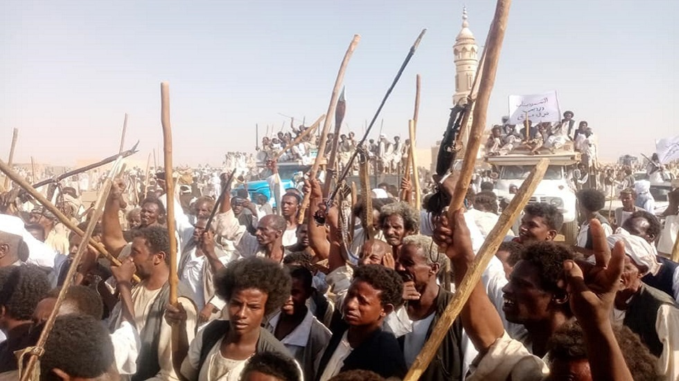 """The """"revolutionaries of the East"""" close the oil pipeline that feeds Khartoum"""