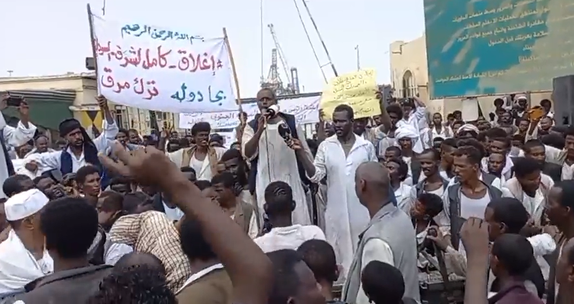 Sudan .. Protesters close Port Sudan airport in the east of the country