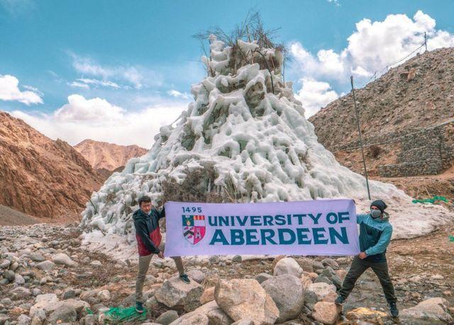 Banner for the University of Aberdeen in Ladakh
