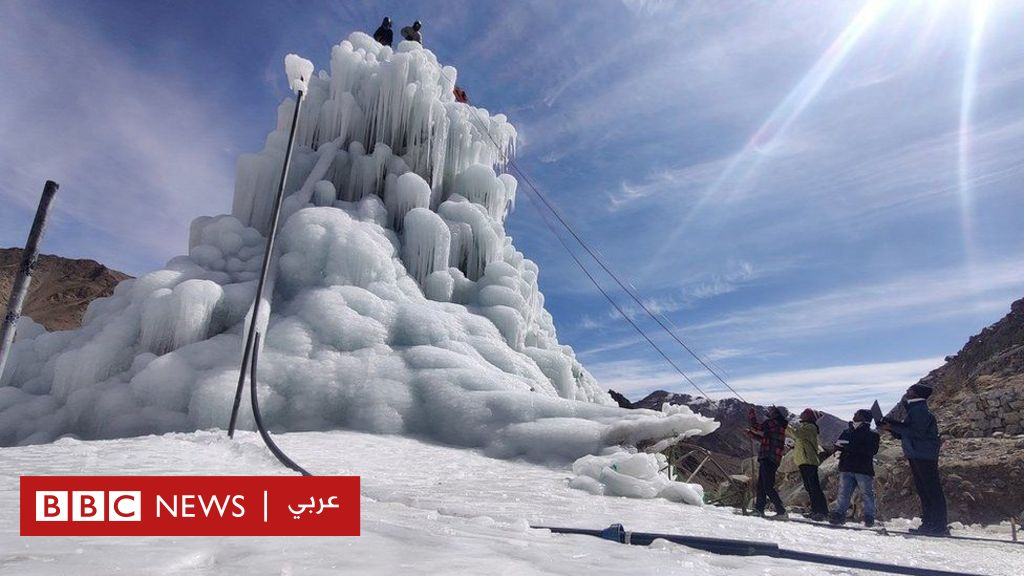 Climate change: Scientists build ice towers to deal with water crisis in the Himalayas