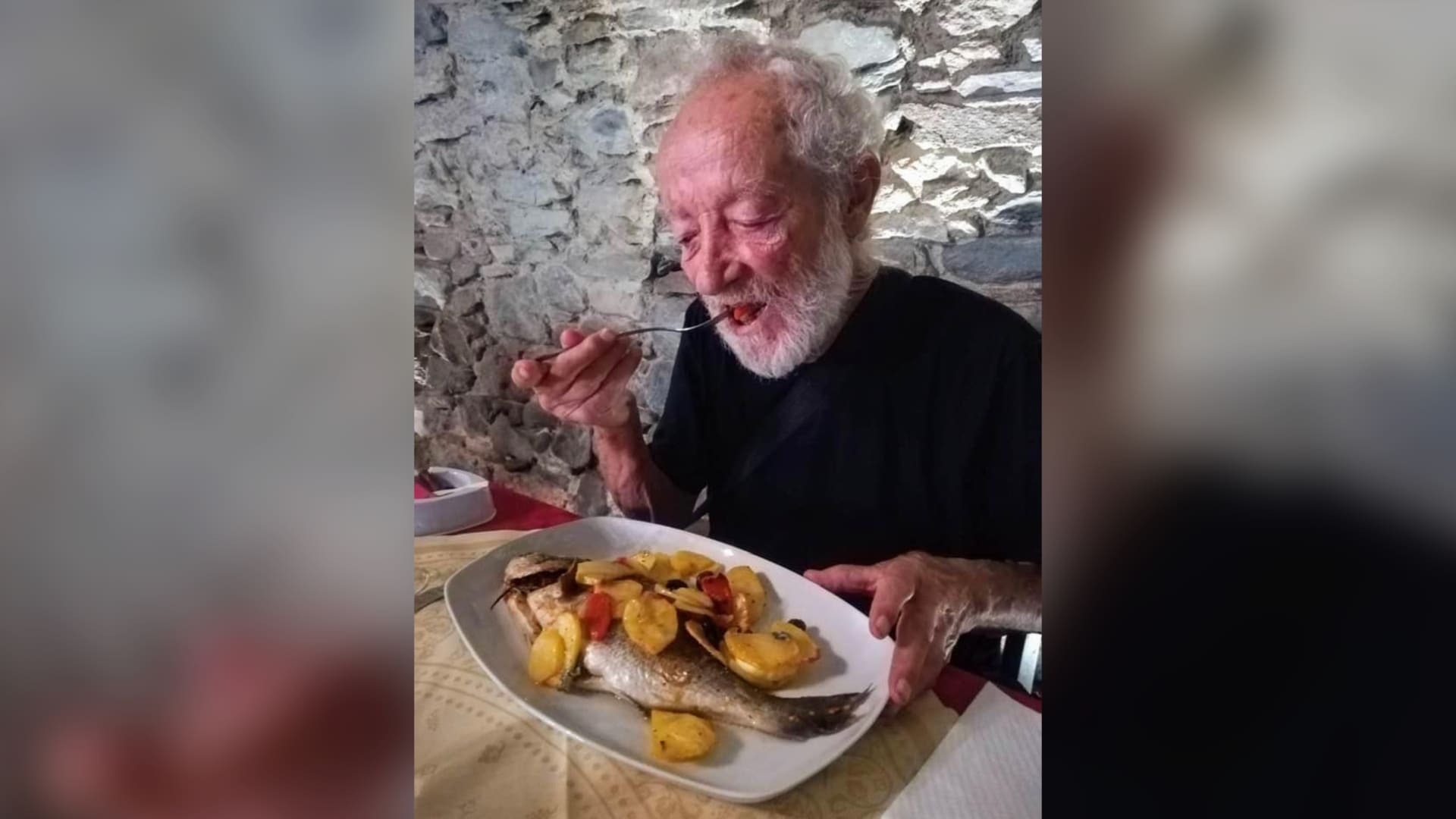 The story of an Italian monk who isolated himself on an island for 33 years. This is how he first met the city.