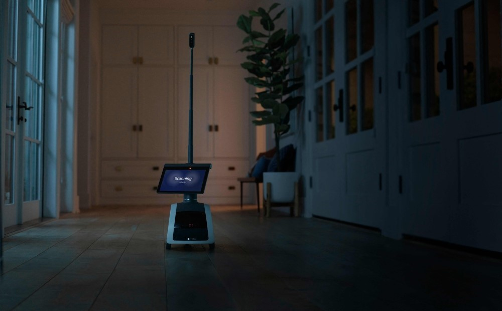 The Astro is equipped with a camera and tablet screen