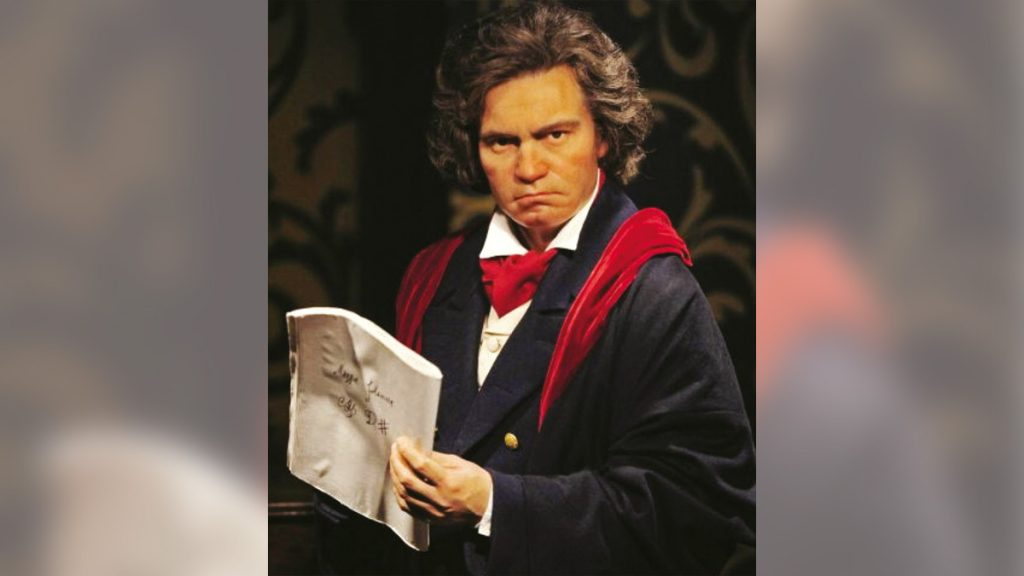 Artificial intelligence plays Beethoven's music .. with one click