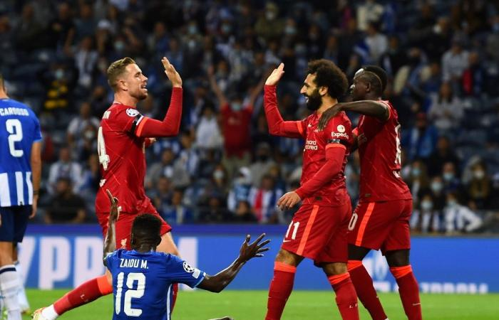 Champions League .. Mohamed Salah leads Liverpool to clear Porto .. and Atletico Madrid snatch dramatic victory over Milan