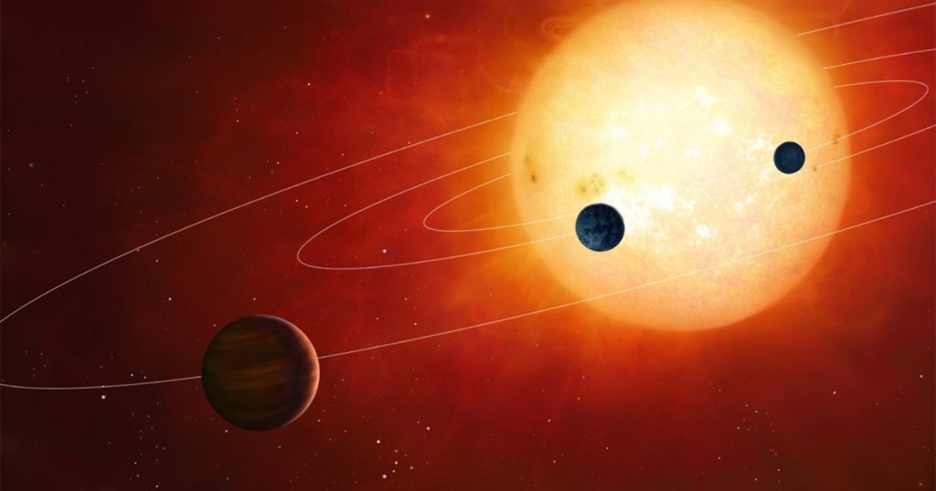 Chemical analysis reveals ... a quarter of outer binary stars swallow their planets Italy