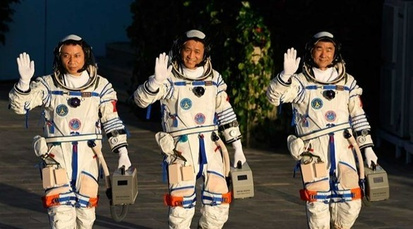 Chinese astronauts complete their three-month mission into Earth orbit