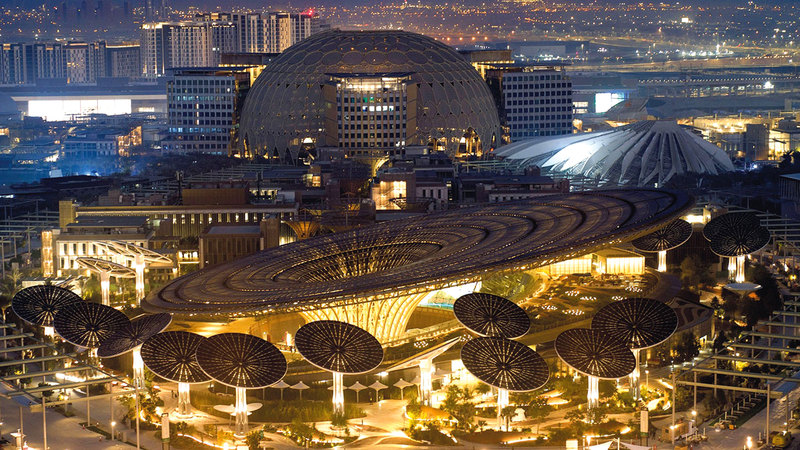 «إكسبو 2020 دبي» يمثل تظاهرة اقتصادية وثقافية لمدة 6 أشهر.   أرشيفية