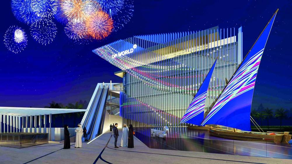 """""""Dubai Ports"""" Pavilion ... """"Expo 2020"""" is an architectural and technical icon that will captivate the audience"""