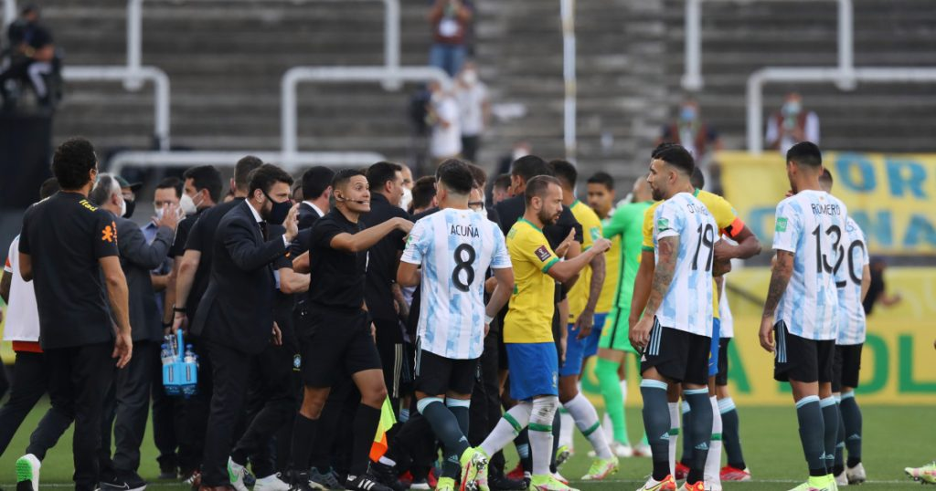 """""""Events are crazy.""""  FIFA chairman comments on cancellation of Brazil-Argentina summit"""