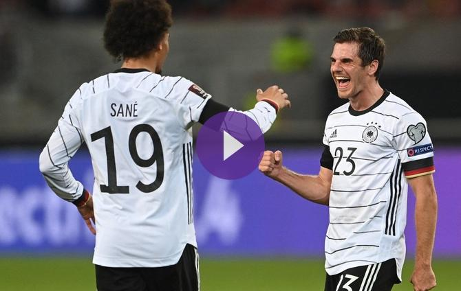 Germany defeated Armenia and regained the lead