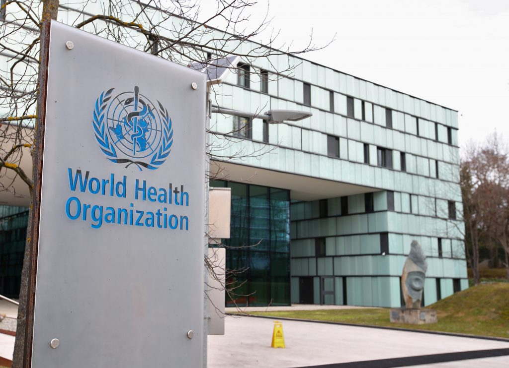 Good news from the World Health Organization about Corona ... and a warning