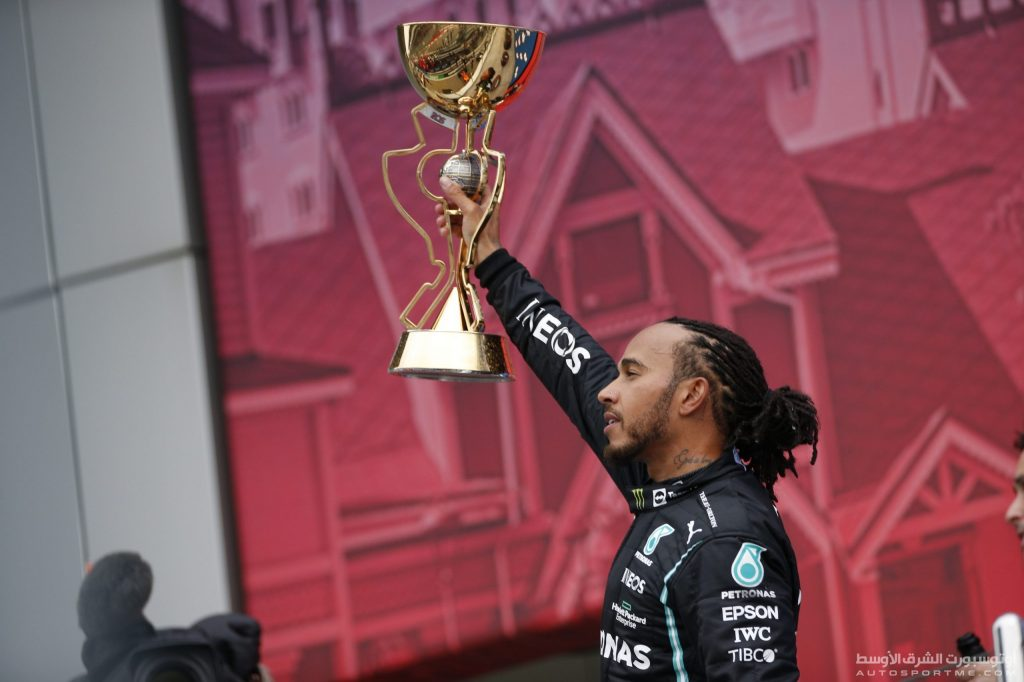 Hamilton became the first driver to win his 100th victory in Formula 1 history