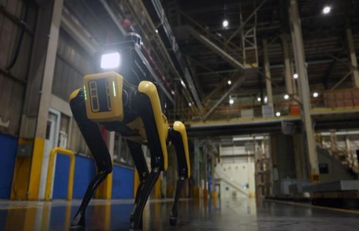 هيونداي تحول روبوت Spot إلى حارس لمصانعها بعد استحواذها على بوسطن ديناميكس بالبلدي