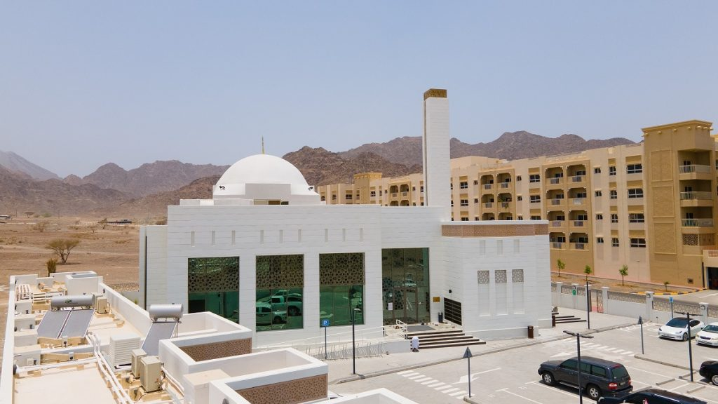 Inauguration of the world's first mosque with a platinum rating for green buildings