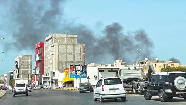 Libya: Violent clashes between armed militants in Tripoli