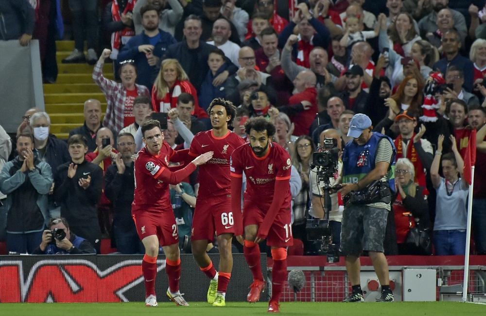 Liverpool beat Milan, Mohamed Salah breaks Samuel Eto'o's record