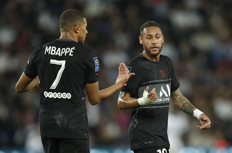 Mbappe complains about Neymar |  Gulf newspaper