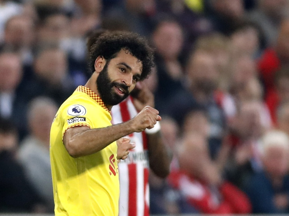 Mohamed Salah has recorded 3 new historical figures and is the highest scorer in Liverpool.