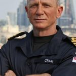 Officially … Daniel Craig and James Bond hold the same rank in the British Royal Navy