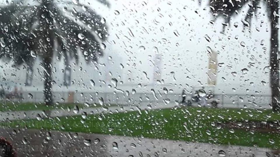 Rain warning on Saturday and Sunday