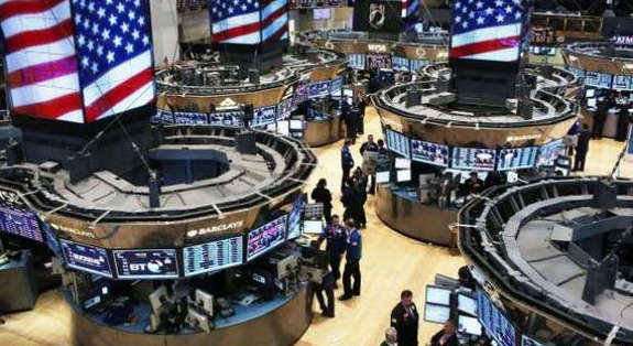 The Dow Jones Industrial Average is up 0.21% at 34869.37 points