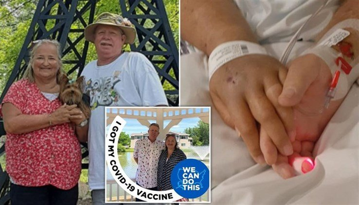 The Michigan couple who learned they were both fully vaccinated died within minutes of being infected with the corona virus!