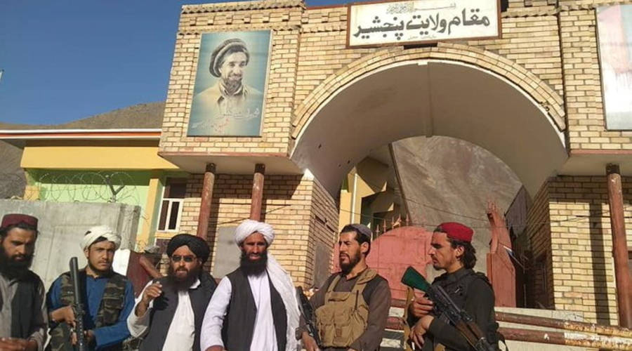 """The """"Taliban"""" ends control of Afghanistan with the fall of the Panjir Valley"""