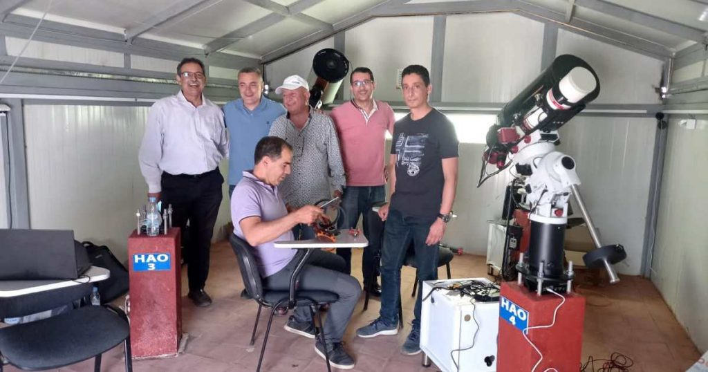 The first internationally recognized Moroccan amateur astronomical laboratory    Morocco