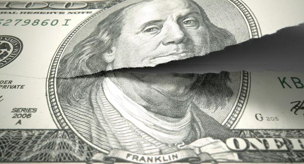 "US debt tops $ 28 trillion, threatens global ""economic catastrophe"""